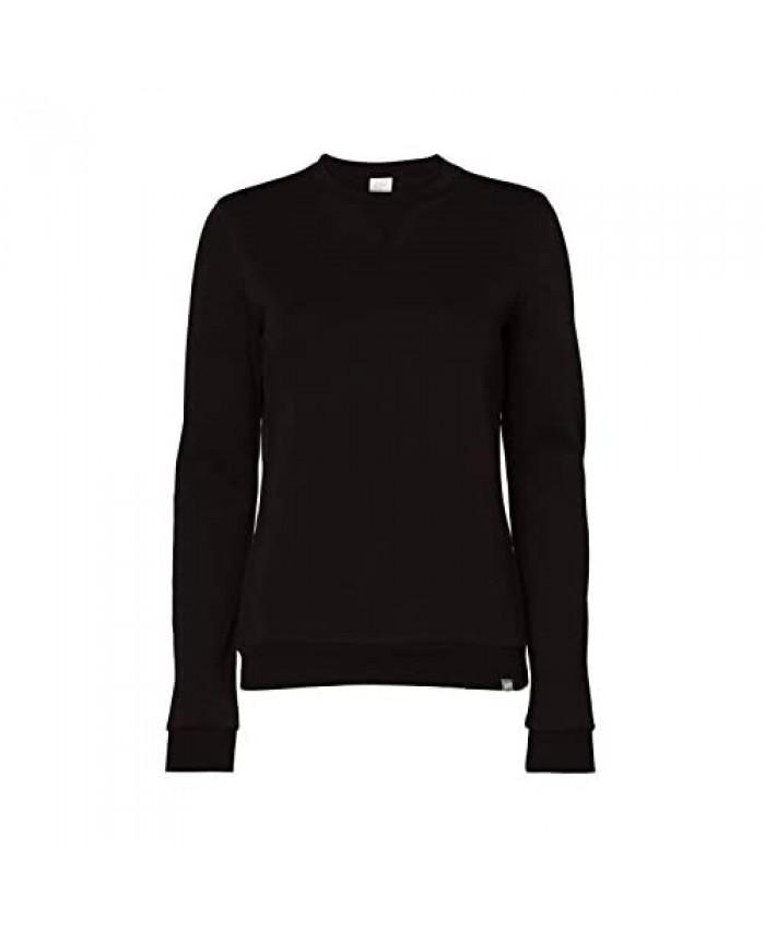 CARE OF by PUMA Women's Long Sleeve Crew Neck Fleece Sweatshirt