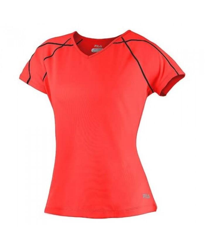 Fila Women's Day Glo Cap Sleeve Top
