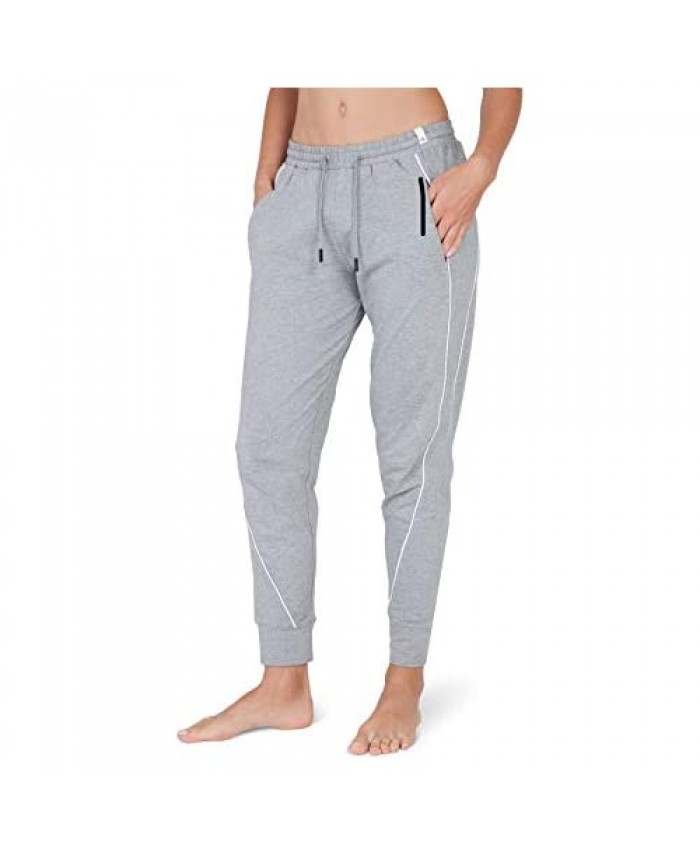 Satva Super Soft Organic Cotton Active Yoga Lounge Sweat Pants Joggers with Pockets - Kara Jogger
