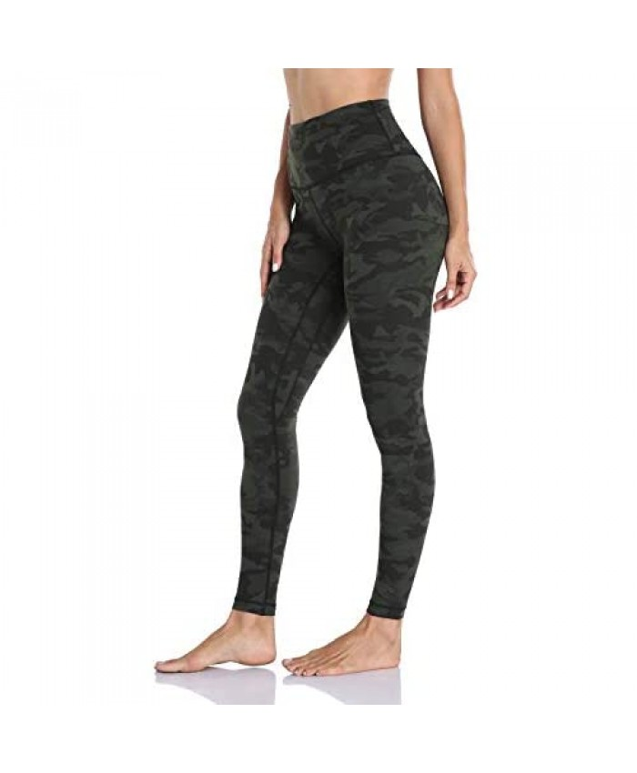 Hawthorn Athletic Essential Full Length Workout Leggings for Women High Waisted Compression Yoga Pants 28''