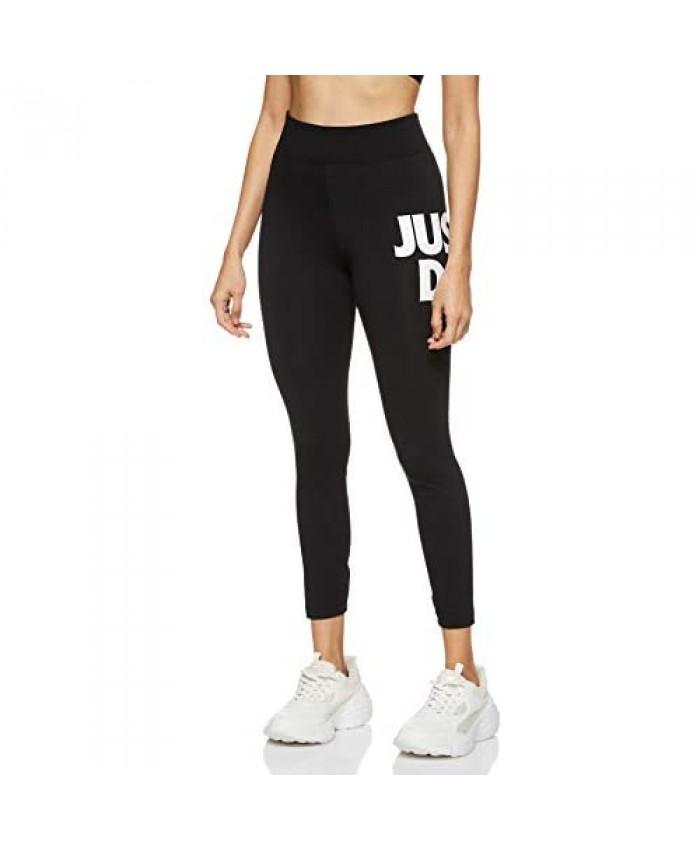 Nike Sportswear Leg-a-See Just Do It Leggings Womens Style : Cj2657 Black/White