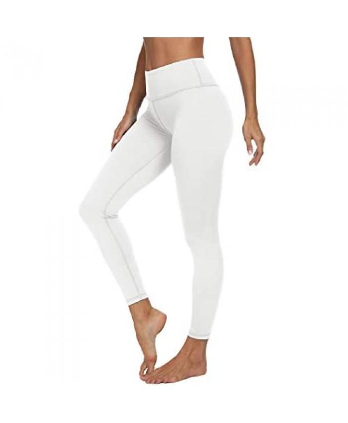 VIISHOW Women's High Waisted Tummy Control Yoga Pants 4 Way Stretch Full Length Leggings Running Pants Workout Yoga Leggings