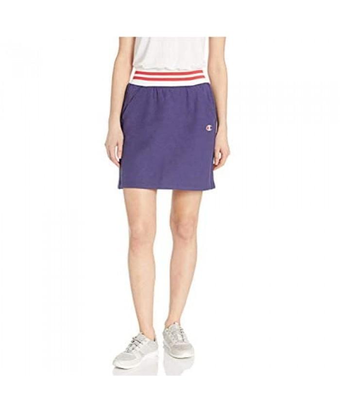 Champion Women's Yarn Dye Stripe Rib Skirt