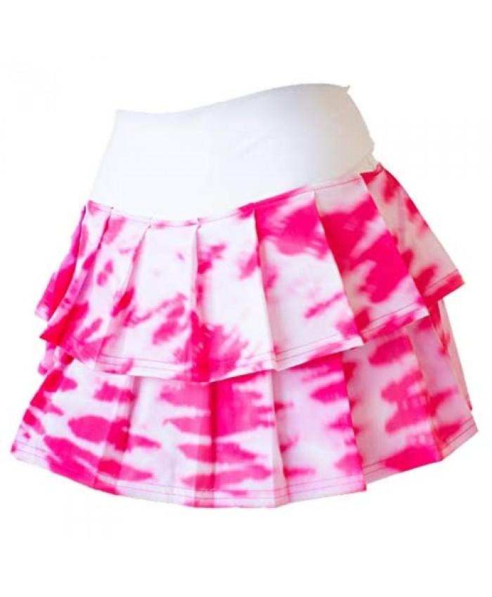 Faye+Florie Women's 2 Tier Tennis Skirt