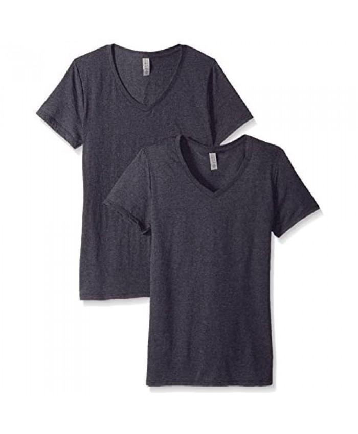 Jerzees Women's Tri-Blend V-Neck T-Shirt(2-Pack)