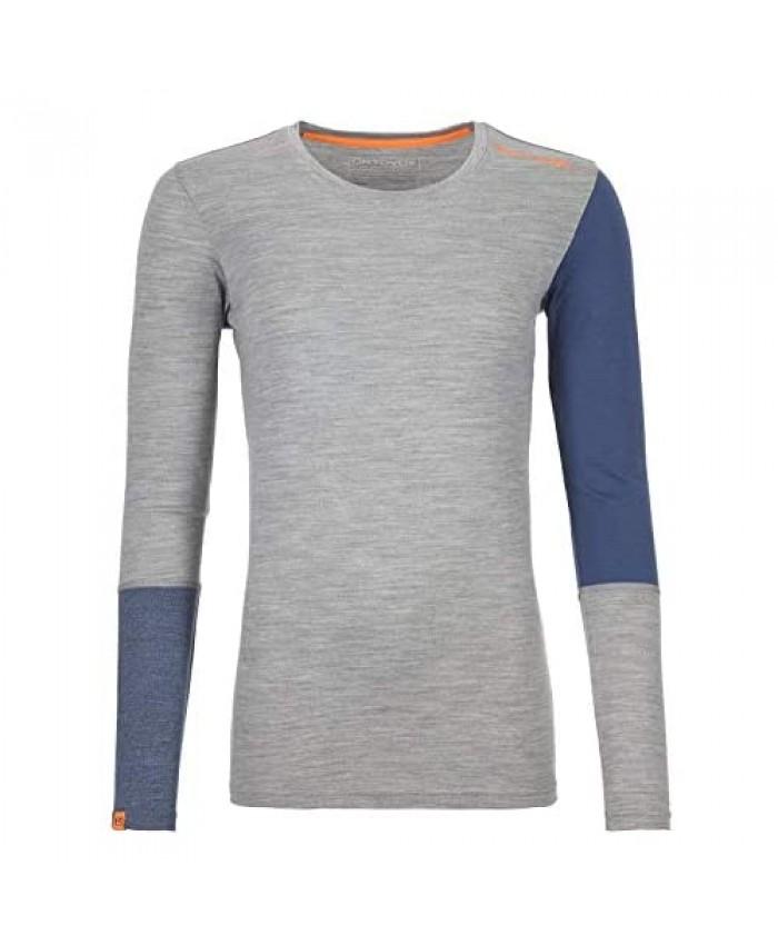 Ortovox 185 Rock'n'Wool Women's Merino Wool Thermal Base Layer Long Sleeve Top
