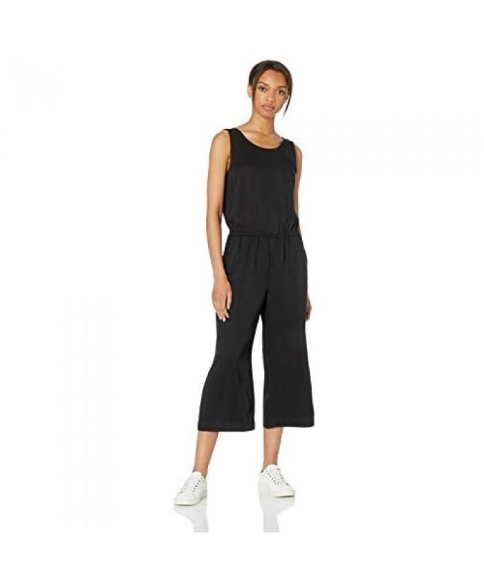 Brand - Daily Ritual Women's Tencel Sleeveless V-Back Jumpsuit