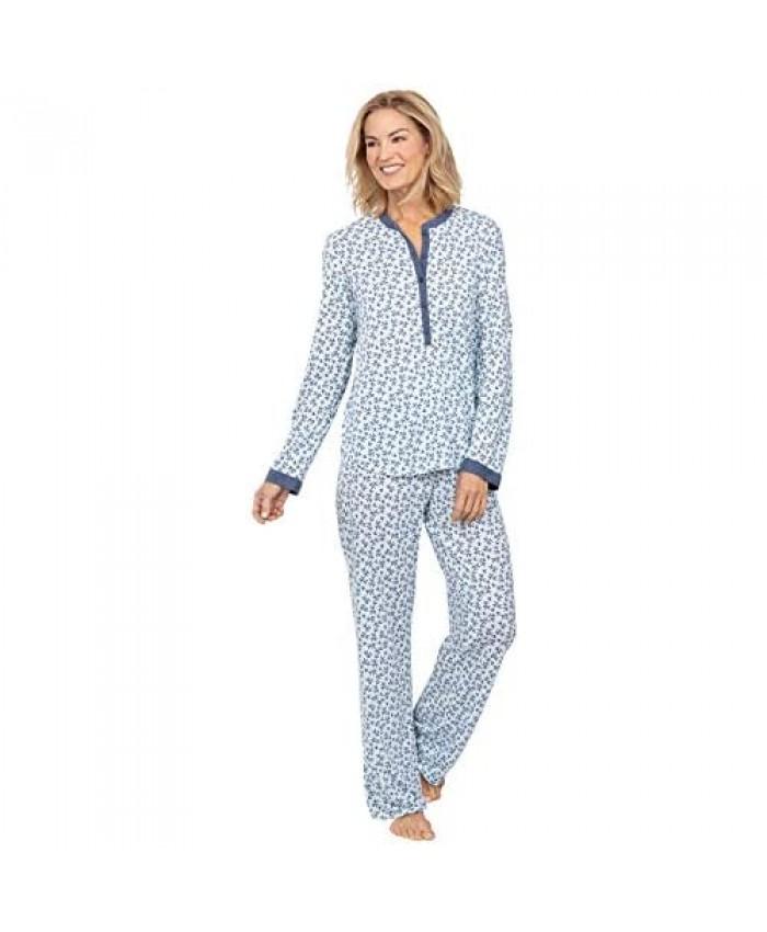 Addison Meadow Knit Womens Pajamas - PJs for Women Set