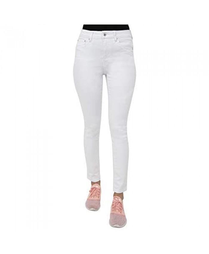 Earl Jean Women's Mid Rise Stretch Skinny Jeans