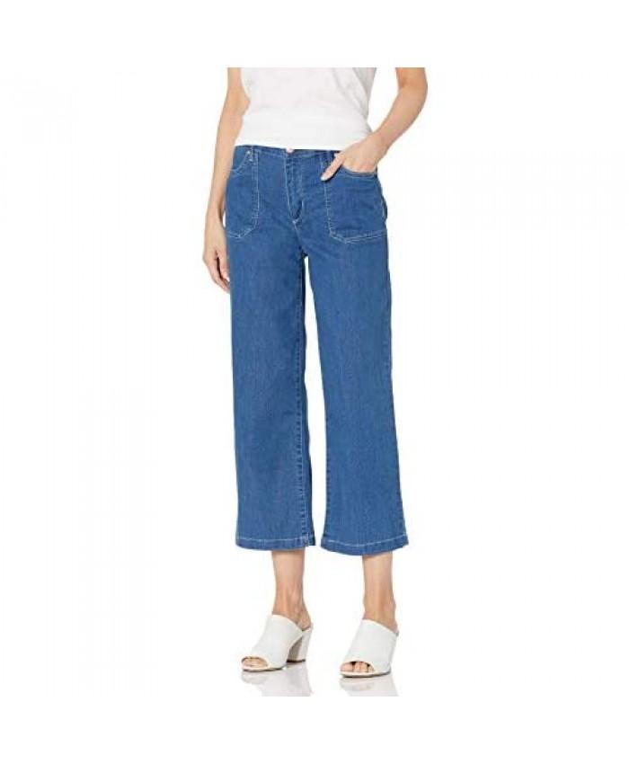 Vintage America Blues Women's Vintage High Rise Wide Crop Jean
