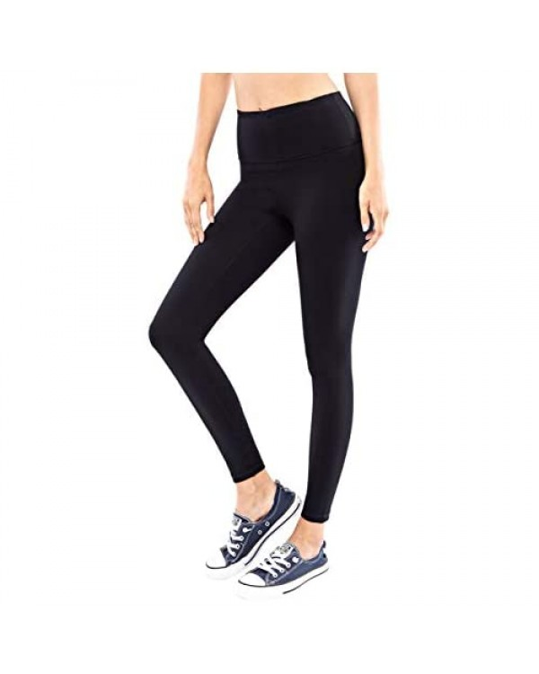 Berrypublic Full Length Yoga Pants - Tummy Control Workout Stretch Sports Leggings