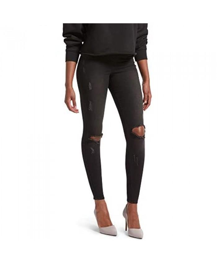 KENDALL + KYLIE Women's Ripped Denim Leggings