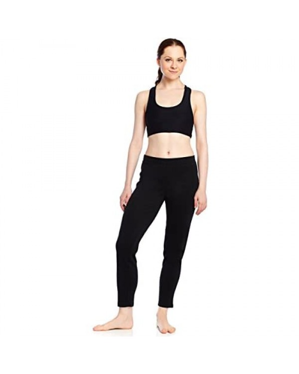Leveret Women's Pants Fitted Yoga Pants Workout Legging 100% Cotton (Size XSmall-XLarge)