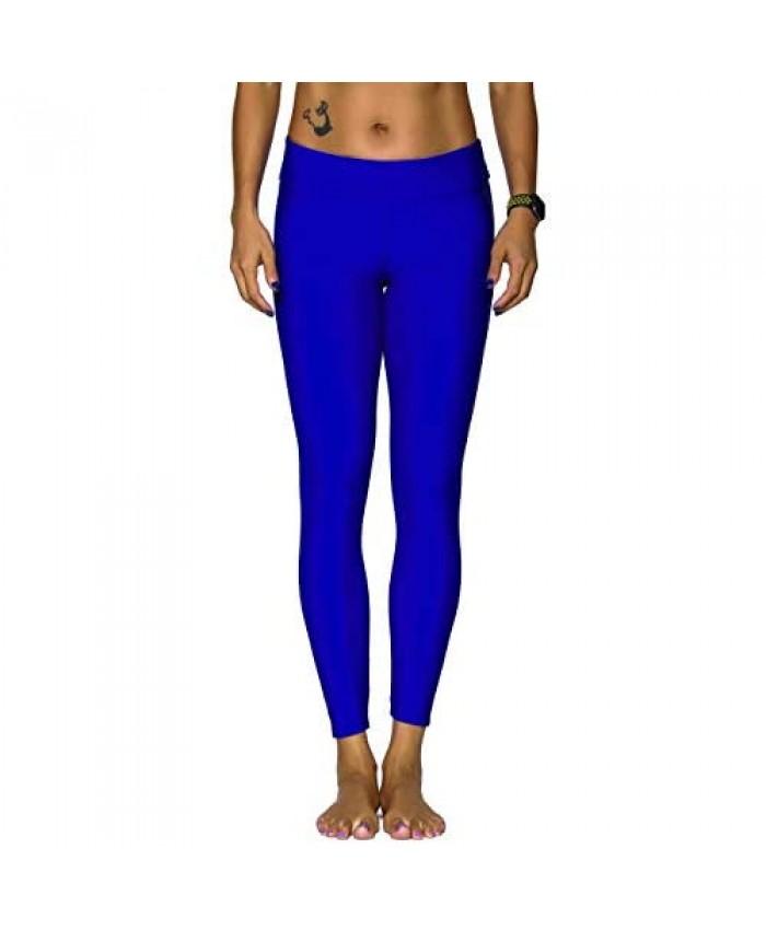 Nonwe Women's Plus Size Sport Surf UV Protetion Swim Capri Legging