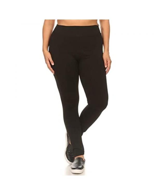 ShoSho Womens Thick High Waist Tummy Control Compression Slimming Leggings